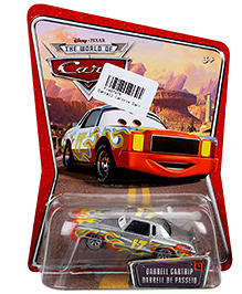 Disney Pixar Cars Darrell Cartrip  - Red And Grey