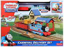 Thomas And Friends Carnival Delivery Set