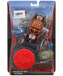 Disney Pixar Cars Bash N Go Mater - Brown