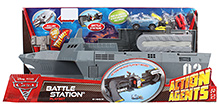 Disney Pixar Cars Action Agent Battle Station Playset