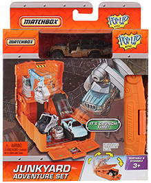 Matchbox Mini Pop Up Junkyard Adventure Set