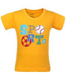 Babyhug T-Shirt Half Sleeves - Sports