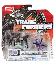 Transformers Nemesis Prime And Spinister
