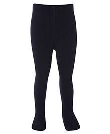 Mustang Footed Tights Stockings - Navy