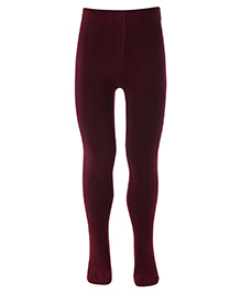 Mustang Footed Tights Stockings - Brown