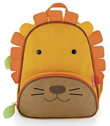 Skiphop Zoo Backpack Orange - Lion Design