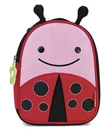 Skiphop Zoo Backpack Pink N Red - Ladybug Design