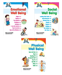 Jolly Kids Book Well Being - Set of 3