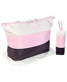 Fab N Funky Mother Bag Set - Pink