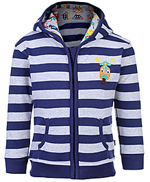 FS Mini Klub Hooded Sweatshirt Striped - Scooter Patch