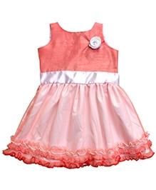 Campana Sleeveless Fairy Party Dress - Ruffled Border