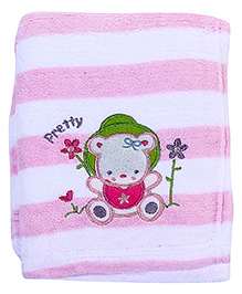 Babyhug Blanket Stripes Print And Doll Patch - Patch