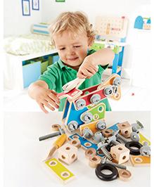 Hape Wooden Master Builder Set - Multi Colour