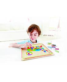 Hape Wooden Frame Monkey Business Sand Art Kit