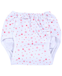 Fab N Funky Reusable Cloth Nappy - Floral Print