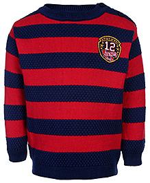 FS Mini Klub Dual Color Sweater - Stripes Print