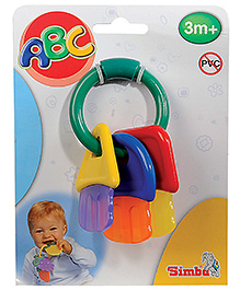 Simba Baby Key Shape Teether - 1 Piece