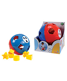 Simba ABC First Shape Sorter Ball - Multi Colour