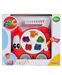 Simba ABC Carry Along Fire Engine - Red
