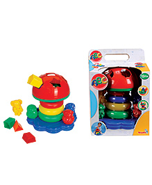 Simba Multi Activity Tower Mushroom Shape - Multi Colour
