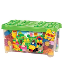 Ecoiffier Abrick Toy Chest - 300 Pieces