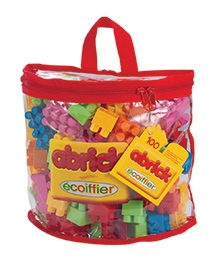 Ecoiffier Abrick 100 Piece Half Moon Bag