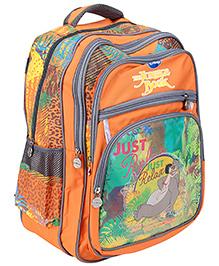 Jungle Book School Bag Orange - Height 44 cm