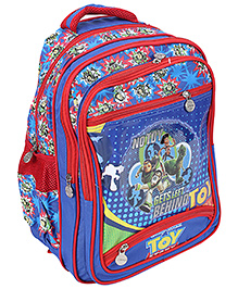 Toy Story School Bag Blue And Red - Height 45 cm