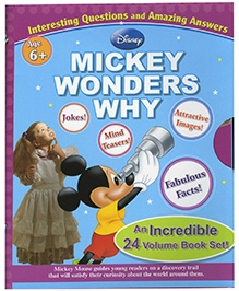 Euro Books Disney Mickey Wonders Why - Set of 24 Volume