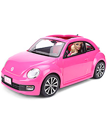 Barbie Doll Volkswagen Beetle - Pink