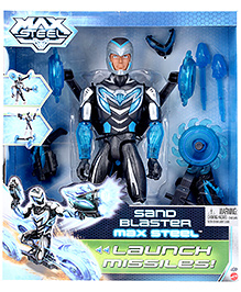 Max Steel Sand Blaster - Launch Missiles