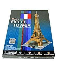Adraxx Junior Educational 3D Board Eiffel Tower Modeling Kit - 35 Pieces