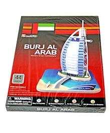 Adraxx Junior Educational 3D Board Burj Al Arab Modeling Kit - 44 Pieces