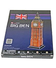Adraxx Junior 3D Board Big Ben Tower Clock Modeling Kit - 30 Pieces