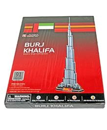 Adraxx Junior 3D Board Burj Khalifa Building Modeling Kit - 91 Pieces