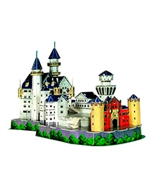 Ardaxx Advanced 3D Board Neuschwanstein Castle Modeling Kit - 98 Pieces