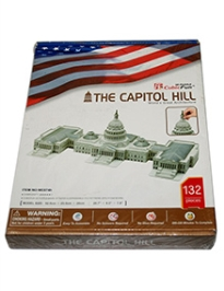 Advanced Educational 3D Board Capitol Hill Modeling Kit