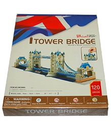 Adraxx Advanced 3D Board Tower Bridge Modeling Kit - 120 Pieces