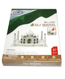 Adraxx Advanced 3D Board Taj Mahal Modeling Kit - 87 Pieces