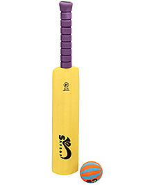 Safsof Cricket Bat And Ball