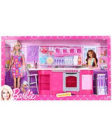 Barbie Cooking Fun Kitchen Doll - Pink