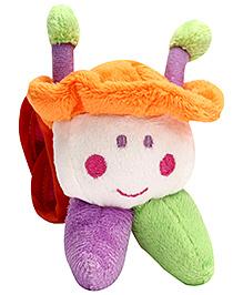Mee Mee Soft Toy Animal Shape Wrist Buddy - Multicolour
