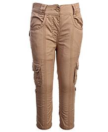 Babyhug Full Length Woven Cargo Trouser