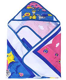 Babyhug Hooded Wrapper - Animal Print
