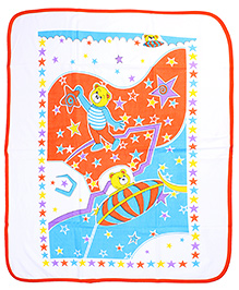 Babyhug Baby Wrapper - Star Print