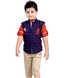 Active Kids Wear Three Piece Set  - Navy