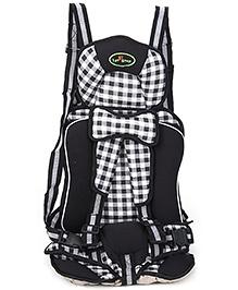 1st Step Booster Car Seat - Black - 19 X 28 X 49 Cm