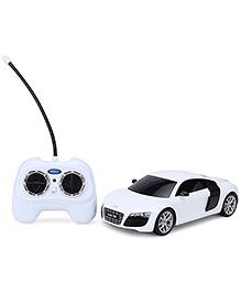 Welly Remote Control Audi R8 V10 - White