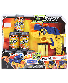 Xshot Excel Series Dual Dart And Disc Blaster