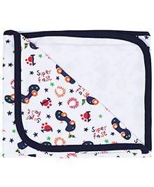 Babyhug Baby Wrapper - Vehicle Print